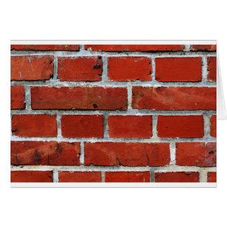 Brick Pattern Card