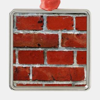 Brick Pattern Metal Ornament