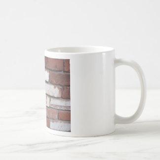 Brick pattern coffee mugs