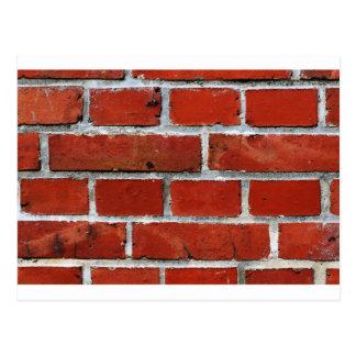 Brick Pattern Postcard