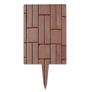 Brick Pavers Cake Toppers