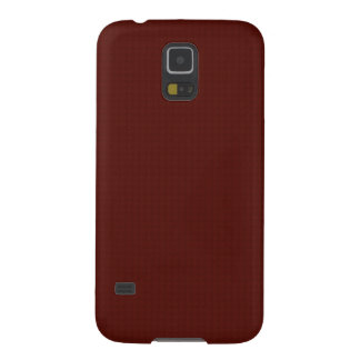 Brick Red Leather Galaxy S5 Cover
