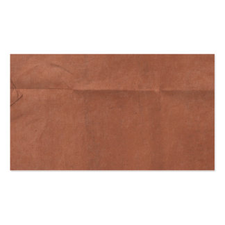 Brick Red Paper creased background Business Cards
