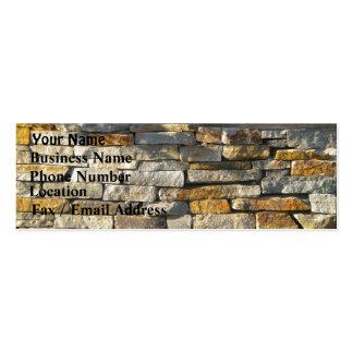 Brick Stone Business Card