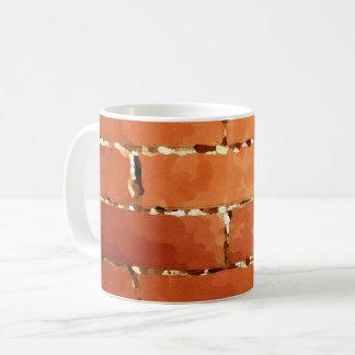 Brick texture coffee mug