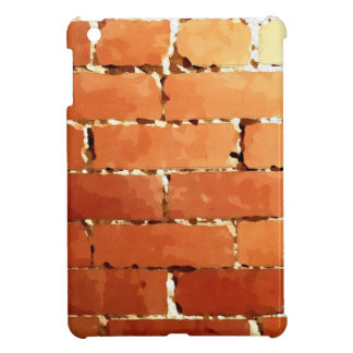Brick texture iPad mini cover