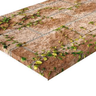 Brick & Vine Wall Gallery Wrap Canvas