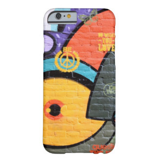 Brick wall Amsterdam Graffiti photograph Barely There iPhone 6 Case