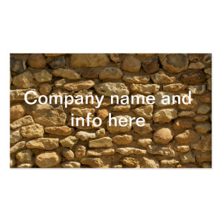 Brick Wall Background Business Cards