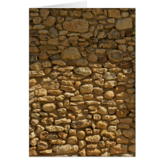 Brick Wall Background Card