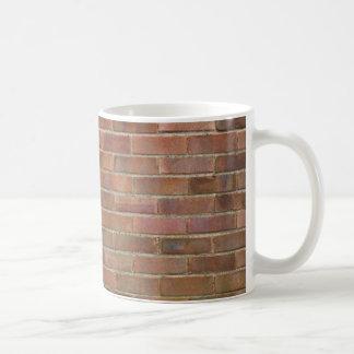 brick wall background mug