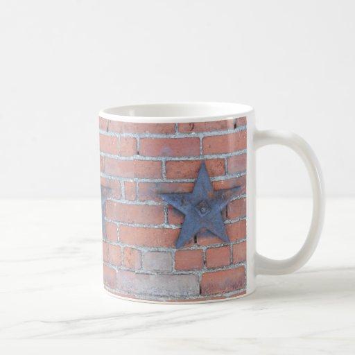 Brick Wall Background Coffee Mugs