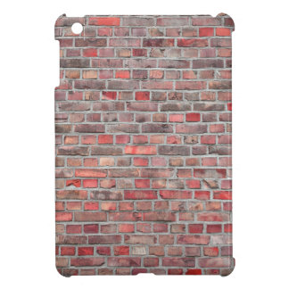 brick wall  background - red vintage stone iPad mini cover