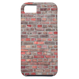 brick wall  background - red vintage stone tough iPhone 5 case