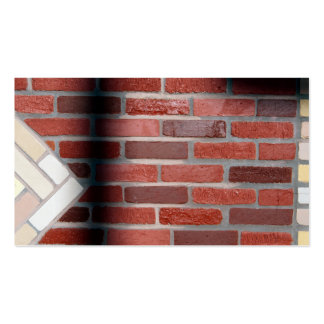brick wall pack of standard business cards