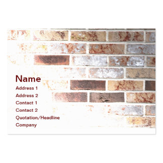 brick wall large business cards (Pack of 100)