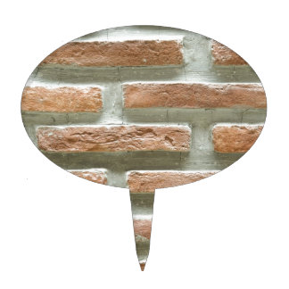 Brick wall cake picks