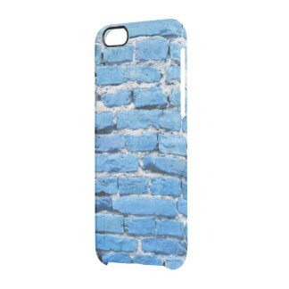 Brick wall clear iPhone 6/6S case