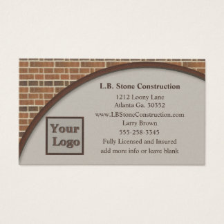 Brick Wall Collection Business Card