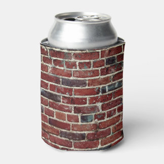 Brick Wall Cool Texture Pattern Can Cooler
