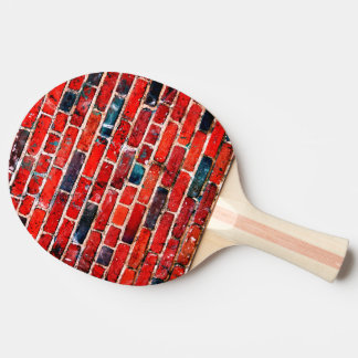 Brick Wall Cool Texture Ping Pong Paddle