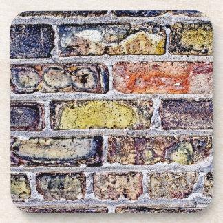Brick Wall Beverage Coaster