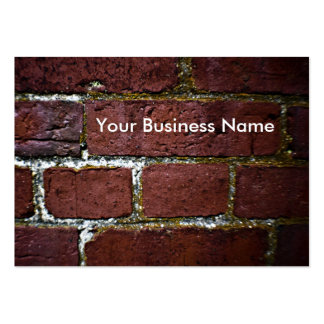 brick wall decay business card templates