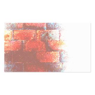 Brick Wall Digital Art Business Card