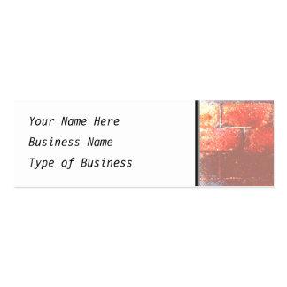 Brick Wall. Digital Art. Pack Of Skinny Business Cards