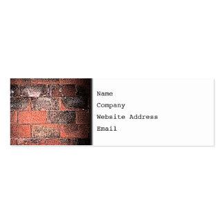 Brick Wall. Digital Art. Business Card Templates