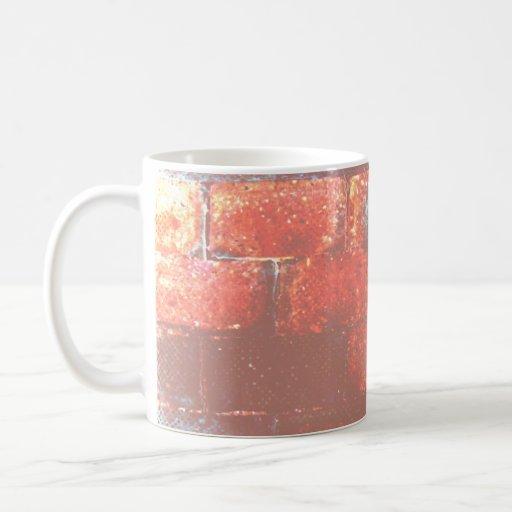 Brick Wall. Digital Art. Coffee Mug