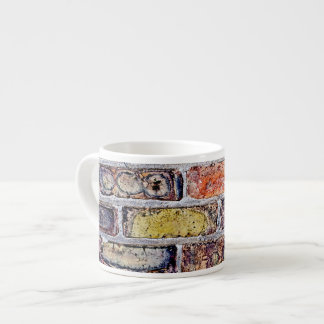 Brick Wall Espresso Mug