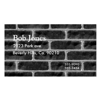 Brick Wall Grunge Graffiti Double-Sided Standard Business Cards (Pack Of 100)