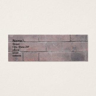 Brick Wall Mini Business Card