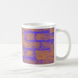 Brick Wall Basic White Mug