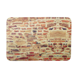 Brick Wall Pattern Bath Mat