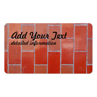 brick wall pattern Double-Sided standard business cards (Pack of 100)