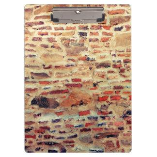 Brick Wall Pattern Clipboard