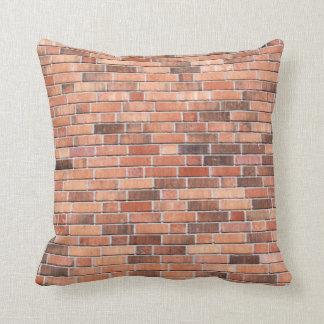 Brick Wall Pattern Throw Pillow