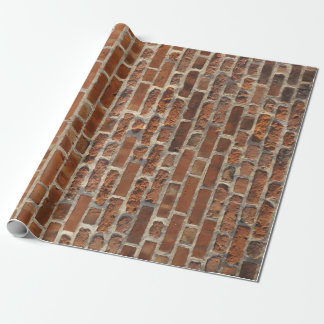 Brick Wall Photo Wrapping Paper