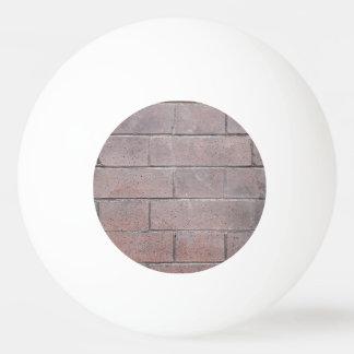 Brick Wall Ping Pong Ball