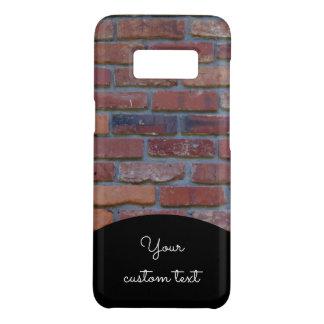 Brick wall - red mixed bricks and mortar Case-Mate samsung galaxy s8 case