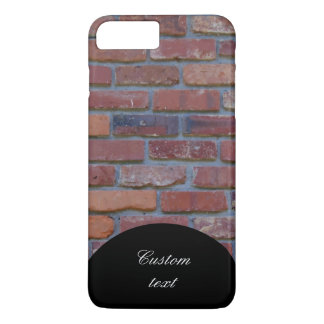 Brick wall - red mixed bricks and mortar iPhone 8 plus/7 plus case
