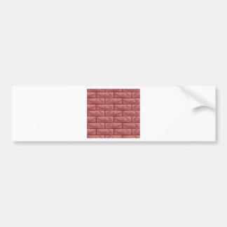 Brick Wall Texture Seamless Background Bumper Sticker