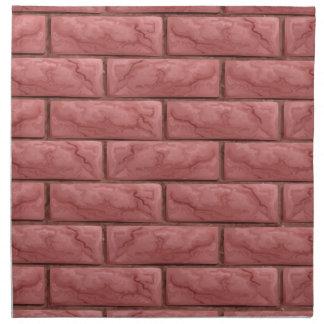 Brick Wall Texture Seamless Background Napkin