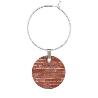 Brick Wall Wine Charms