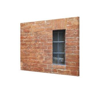 Brick wall with a typical pattern. The wall was Stretched Canvas Prints