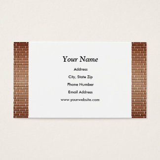 Brick Walls Business Cards