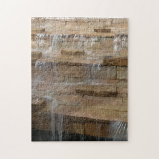 Brick Waterfall Jigsaw Puzzle