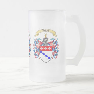Brickey Family Crest Heraldry Frosted Mug